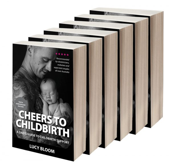 Cheers to Childbirth doula half dozen